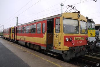 Железные дороги в венгрии