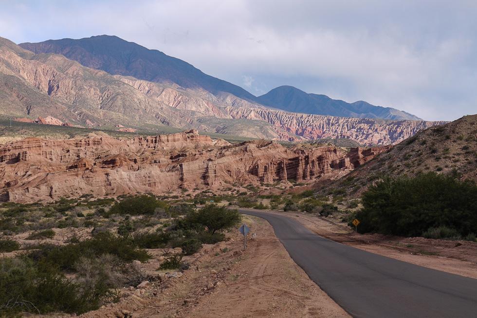 Провинция Salta, Ruta 68 между Cafayate и Salta.