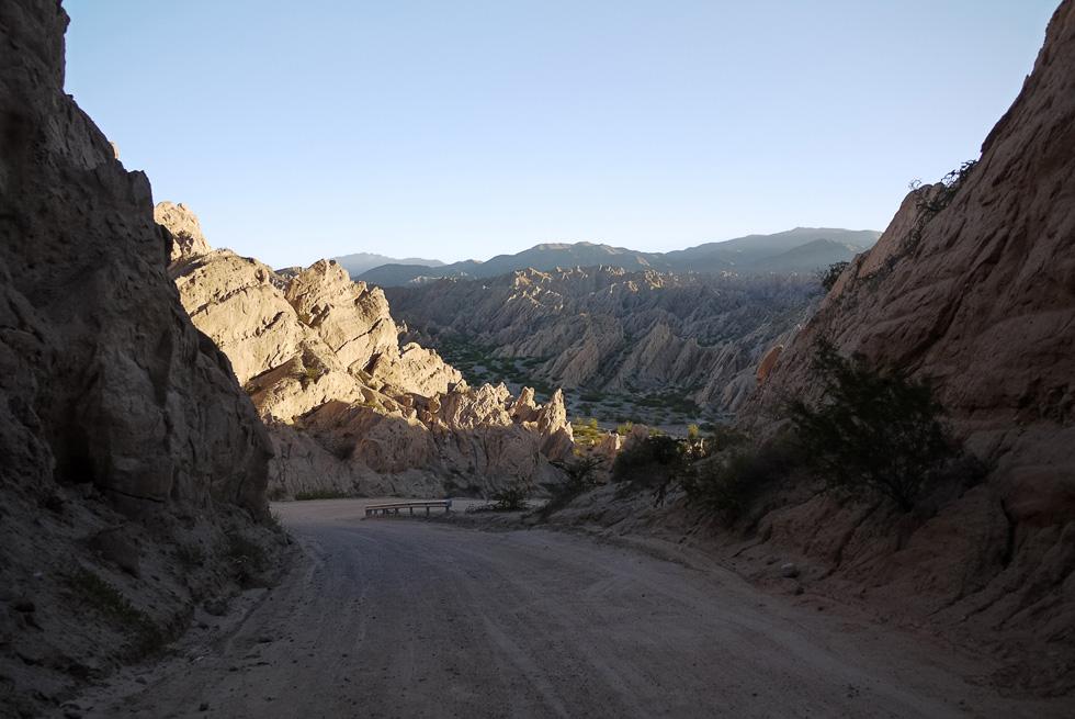 Каньон стрел (Cuebrada de las Flechas), недалеко от Cafayate, провинция Salta.