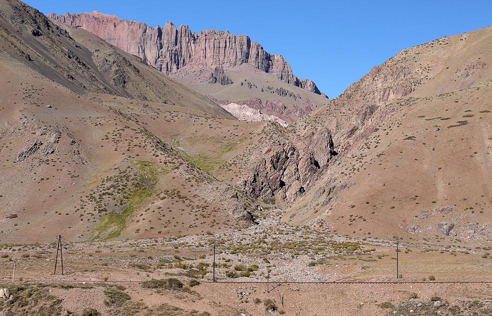 Гора в Андах