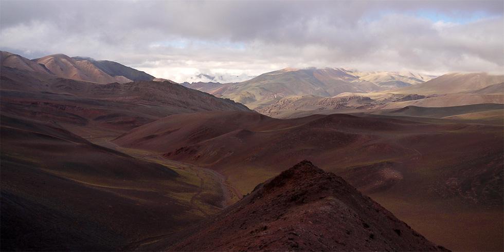 Вид с горы в районе Лагуны Брава