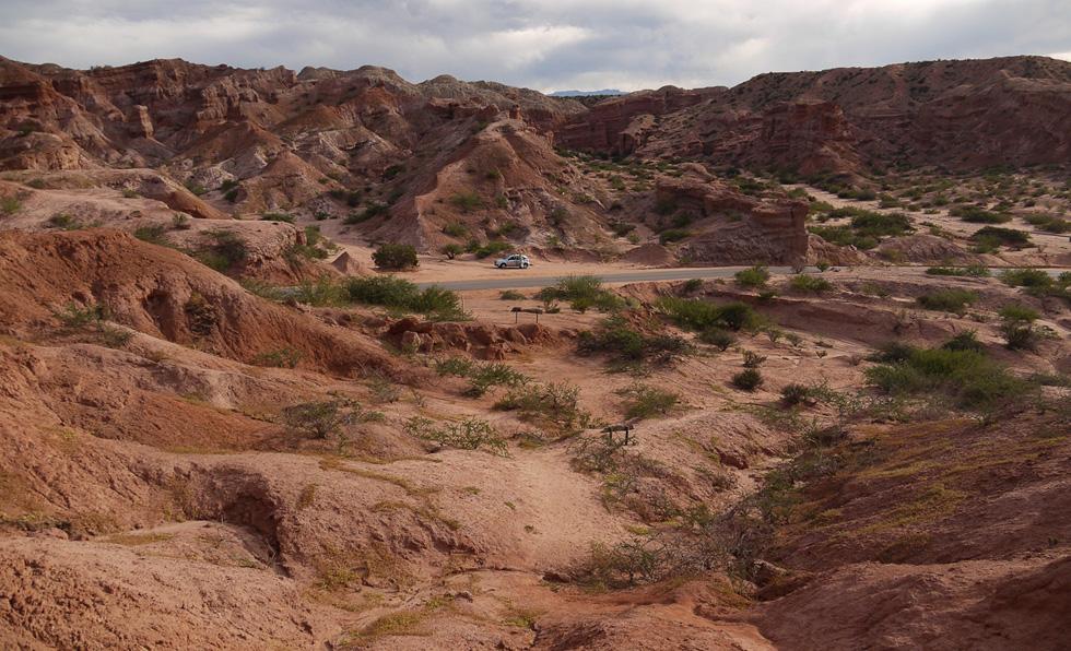 Дорога в Ущелье Раковин