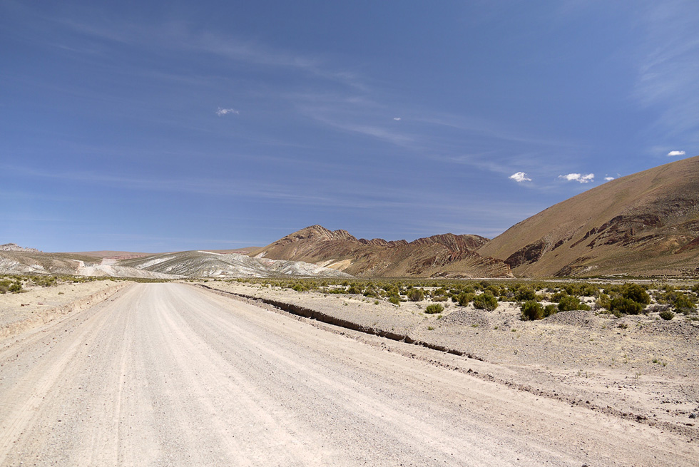 Дорога в Андах