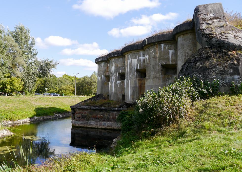 Укрепления пятого форта Брестской крепости