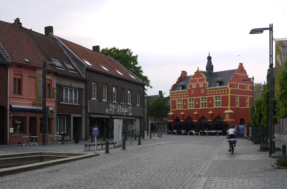Центр небольшого бельгийского города
