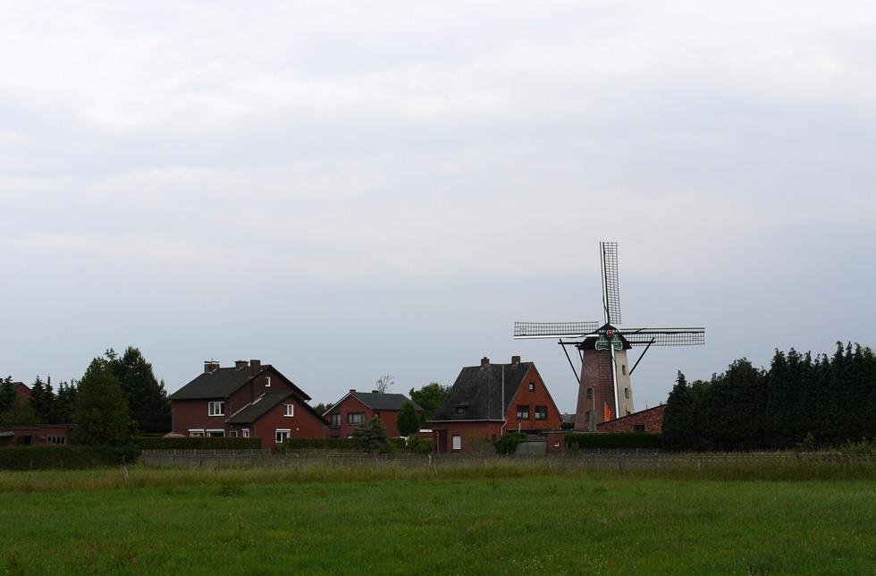 Ветряная мельница в Бельгии