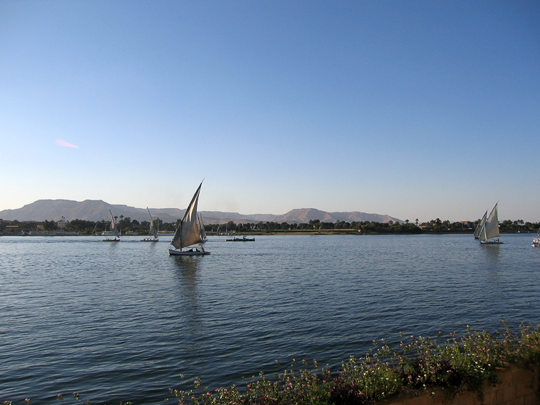 Фелюги на Ниле