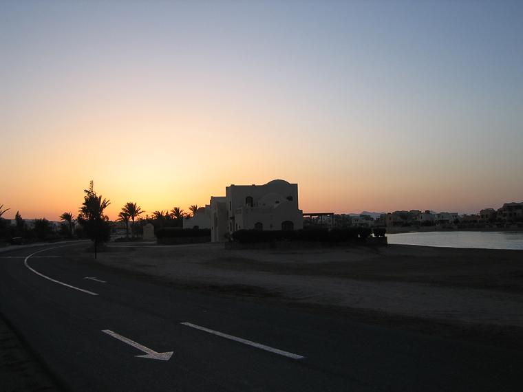 Эль Гуна. Улицы. Вечер