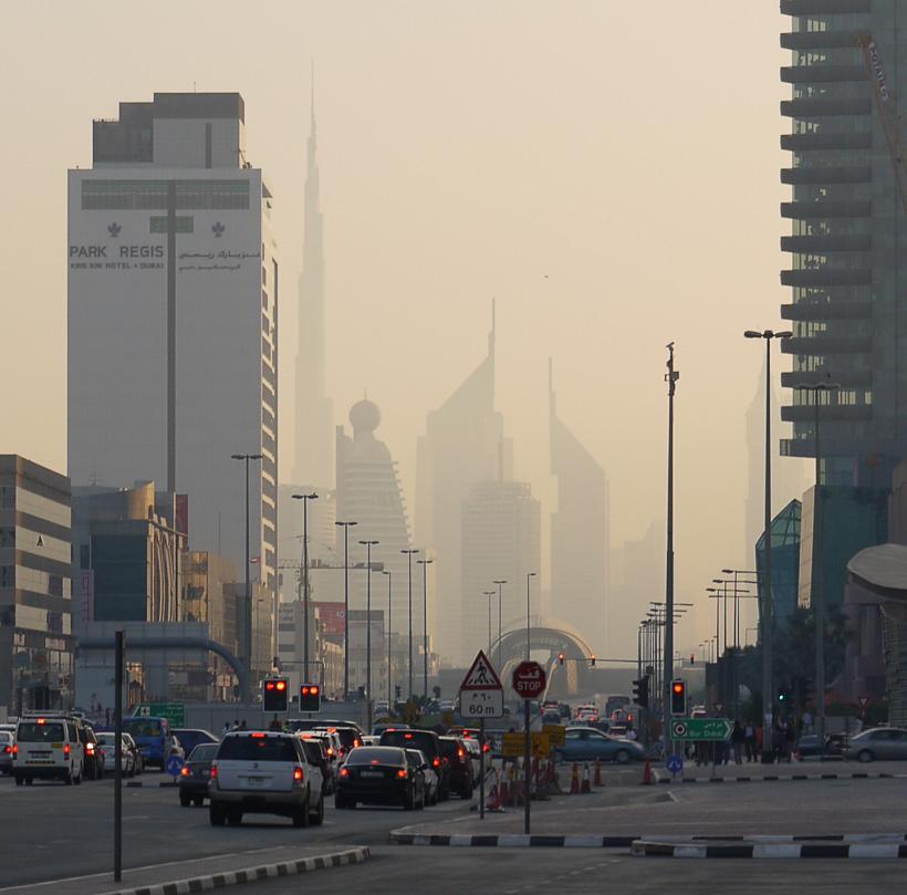Небоскрёбы Дубаи