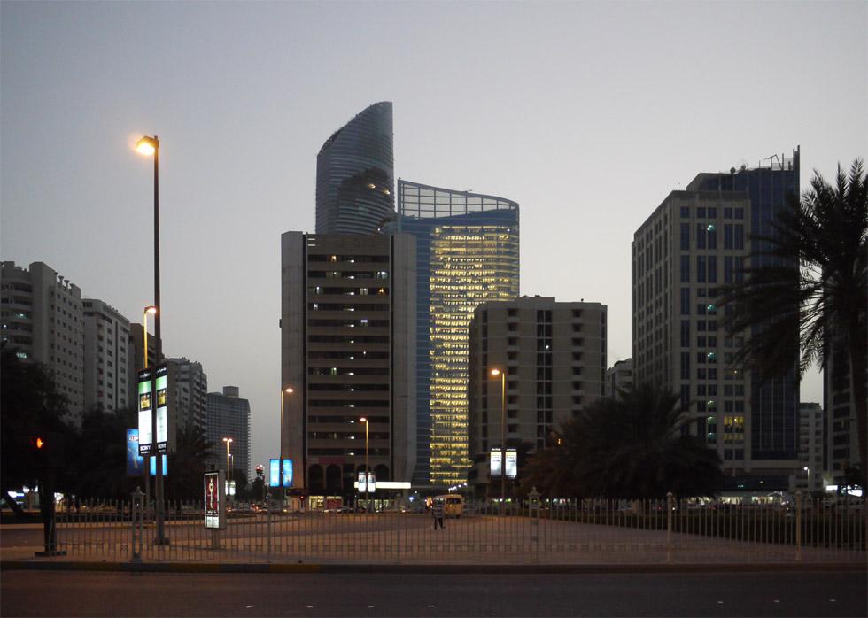 Домик в Абу-Даби
