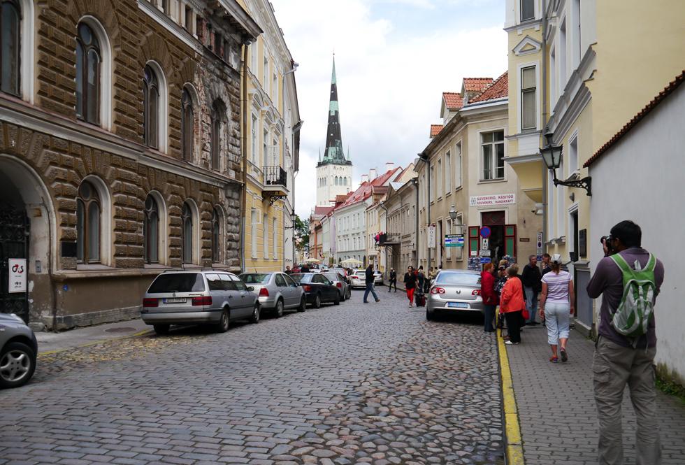 Широкая улица Pikk