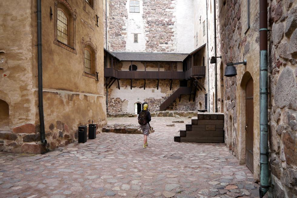 Внутренний дворик замка Турку