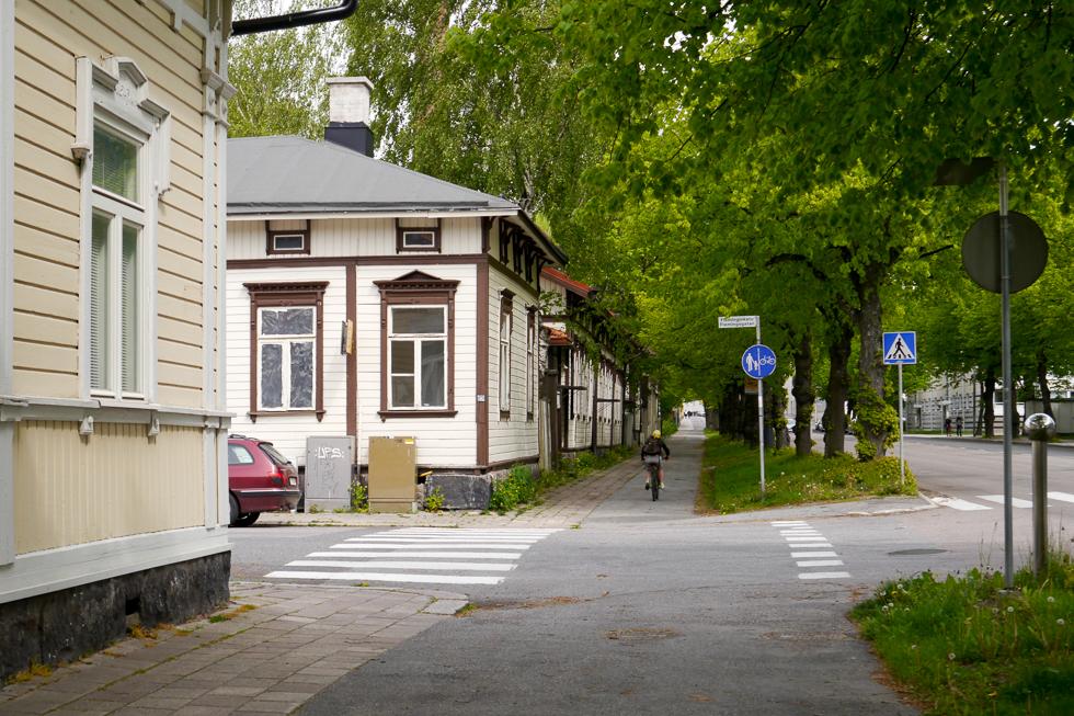 Деревянные дома в Турку