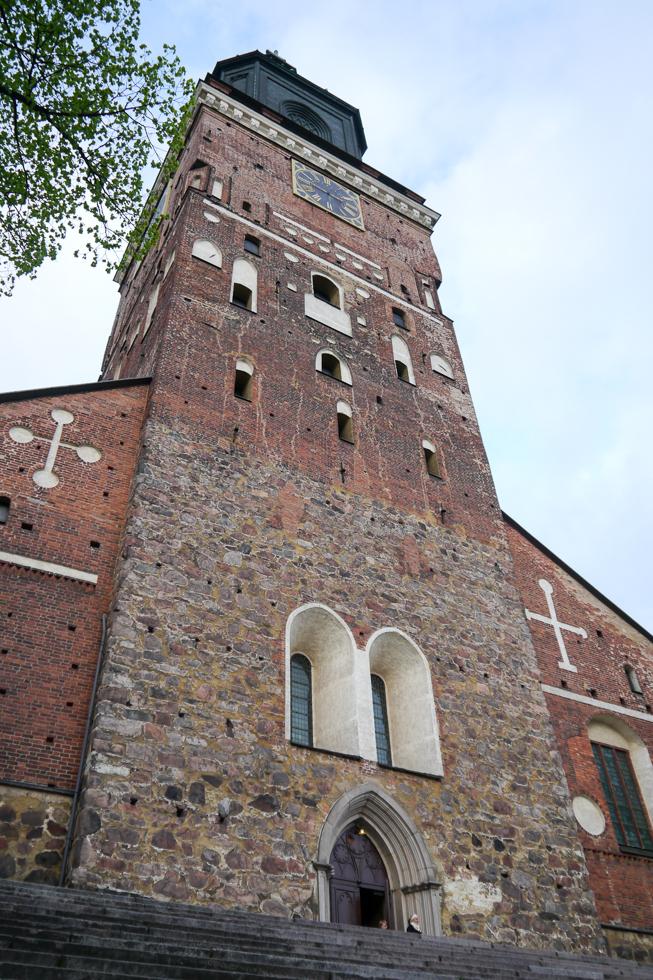 Колокольня кафедрального собора Турку