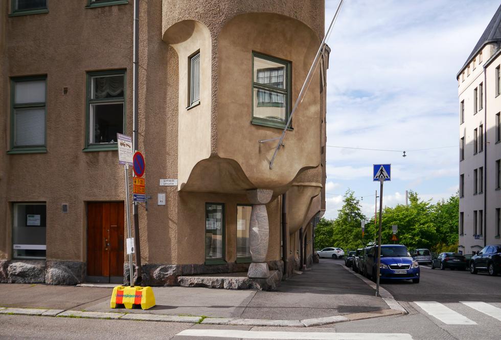 Модерна в Хельсинки много