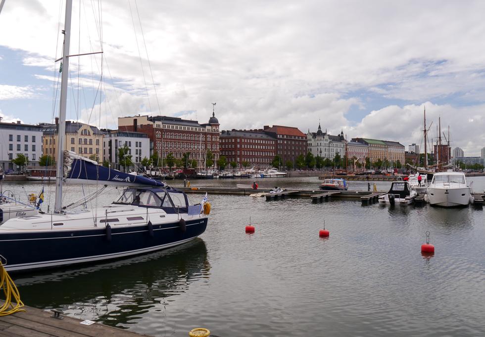 Причал для яхт в Хельсинки