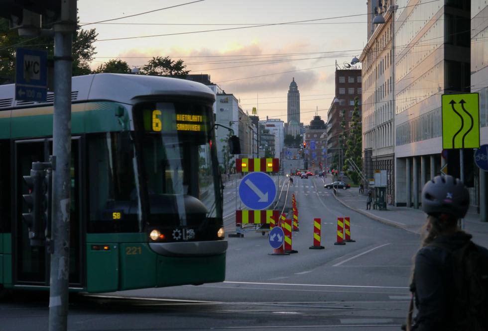 Вечер в Хельсинки