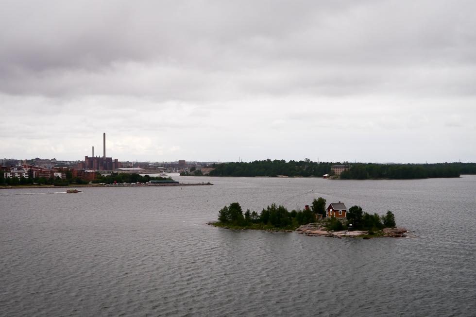 Шхеры, домики, острова, финский залив.