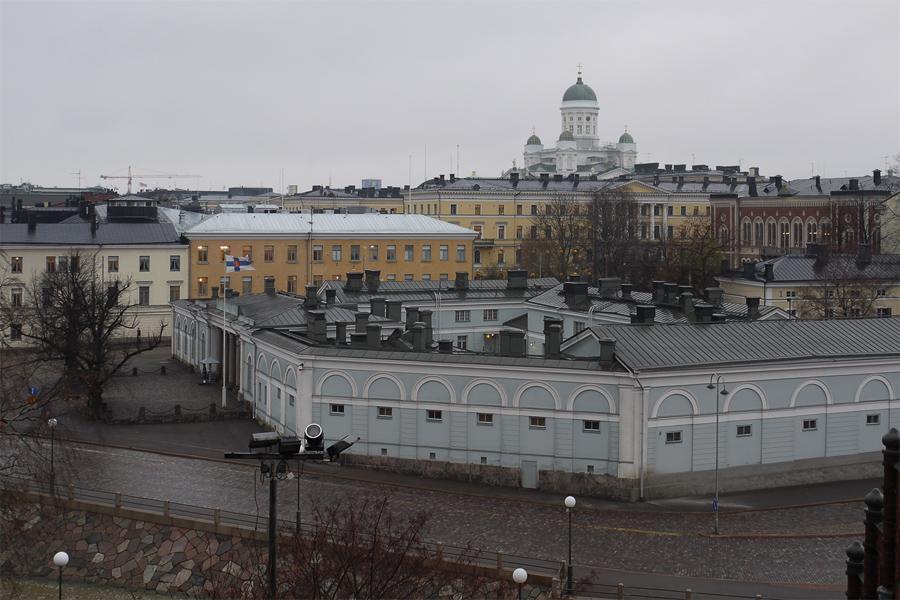 Хельсинки невысокий и очень уютный город