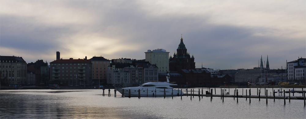 Вот так и выглядит Хельсинки