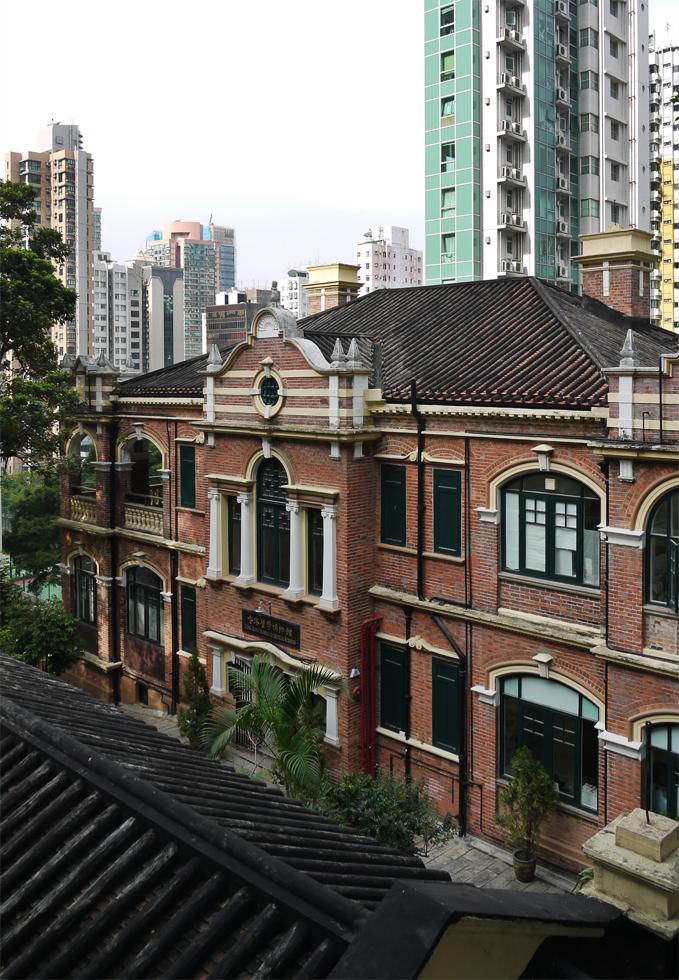 Старый дом в Гонконге