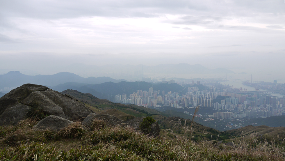 Вид на Конгонг с тропы