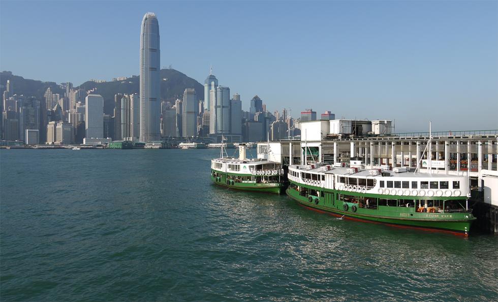 Паромы в центр Гонконга