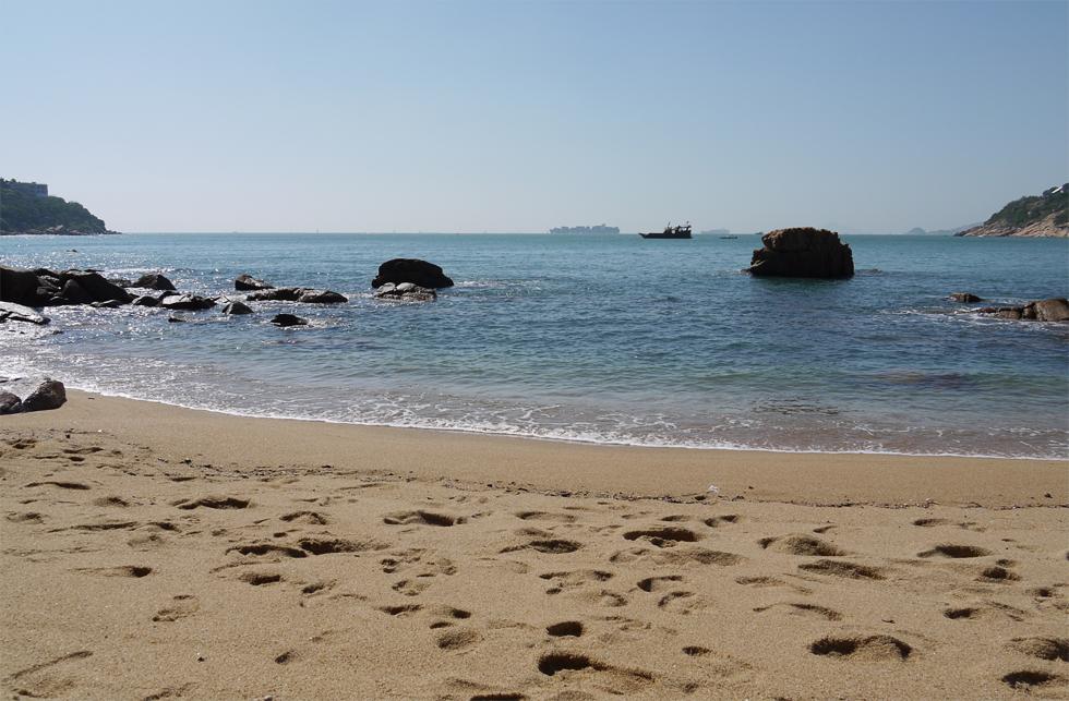 Пляж в Стенли