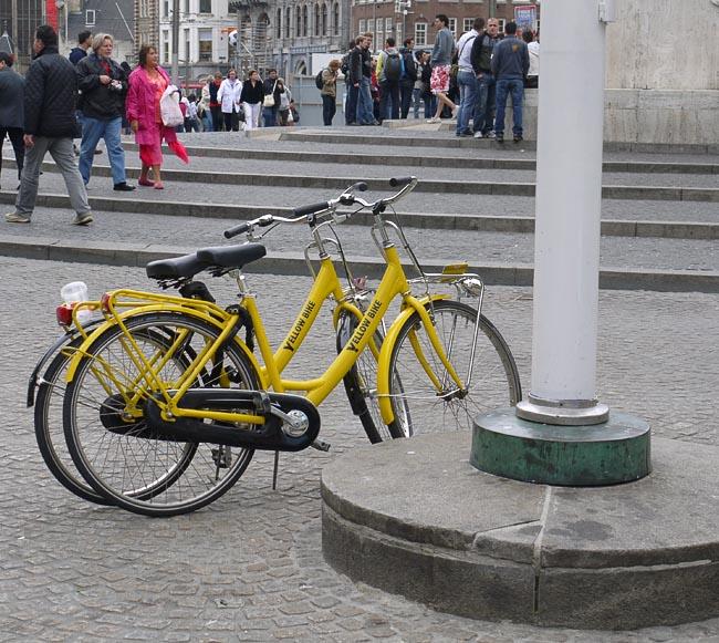 Велосипеды на прокат в Амстердаме