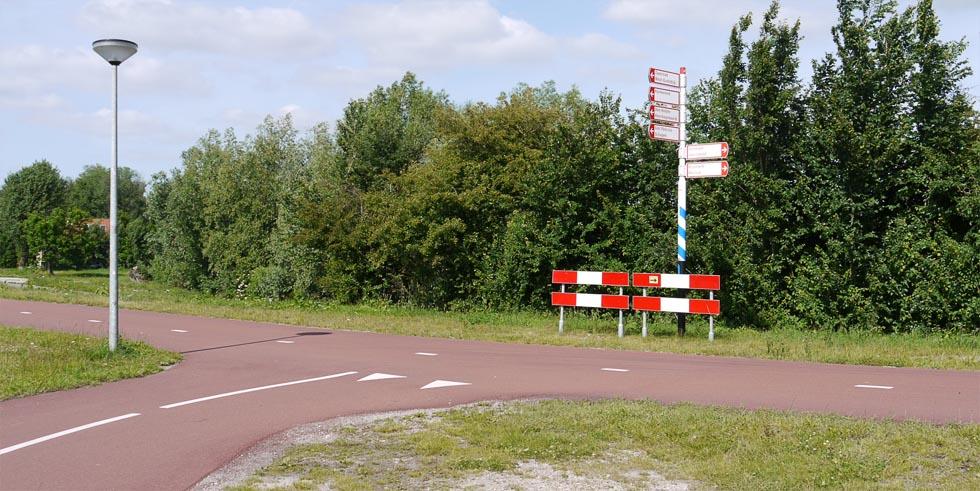 Велоперекрёсток в Голландии.