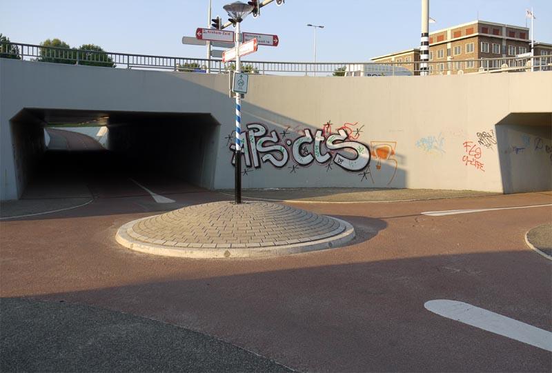 Еще один перекрёсток велодорожек. Велокруг.