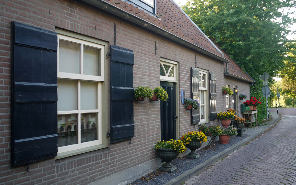Домик в Голландии.