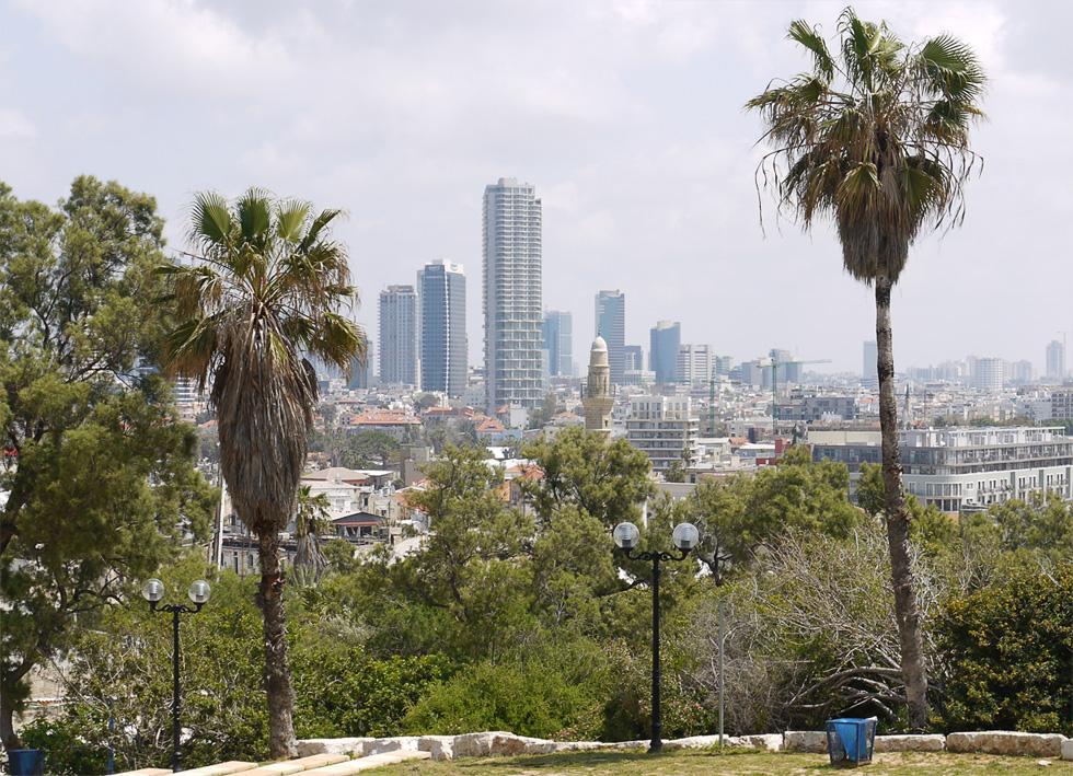 Вид на Тель-Авив из Яффо