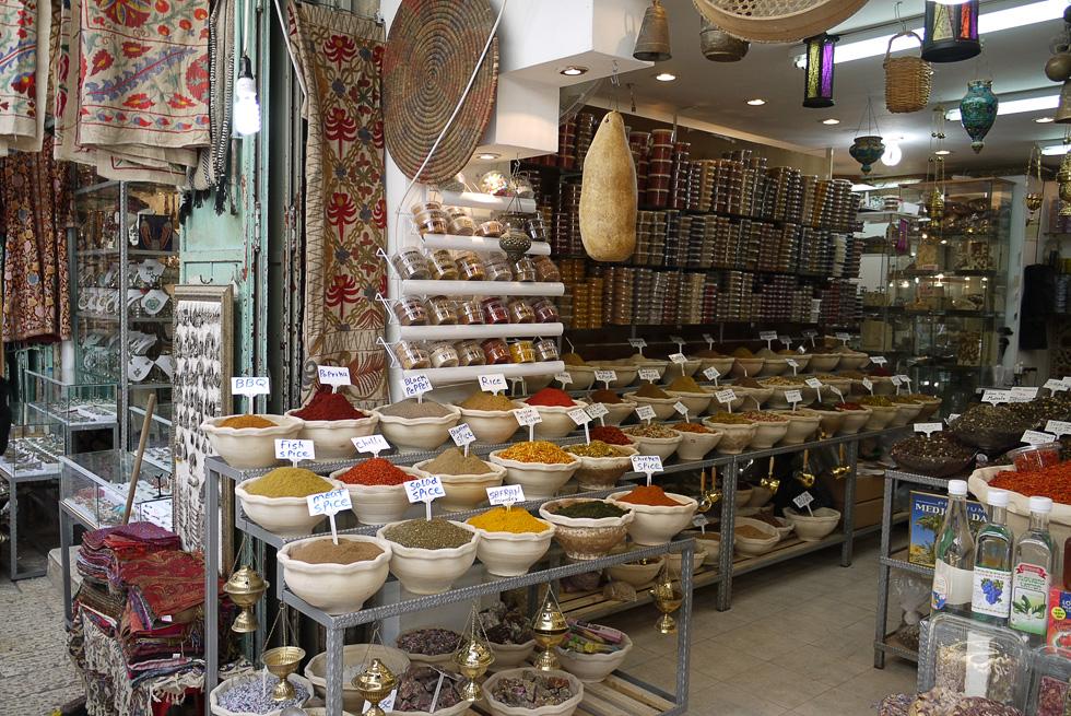 Лавка торговца специями в Иерусалиме
