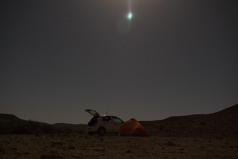 Ночь в пустыне Негев