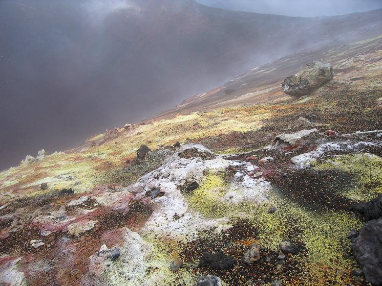 Северный прорыв. Конус Горшкова. Вывал кратера.