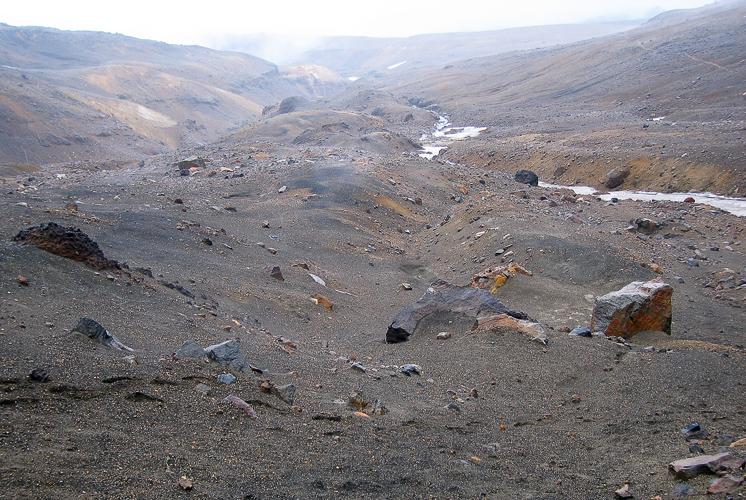 Окрестности вулкана Мутновский.