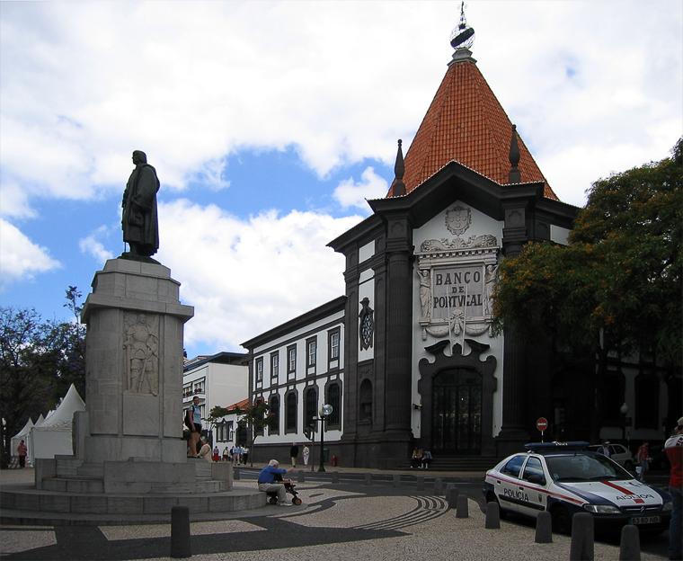 Фуншал – столица острова Мадейра.