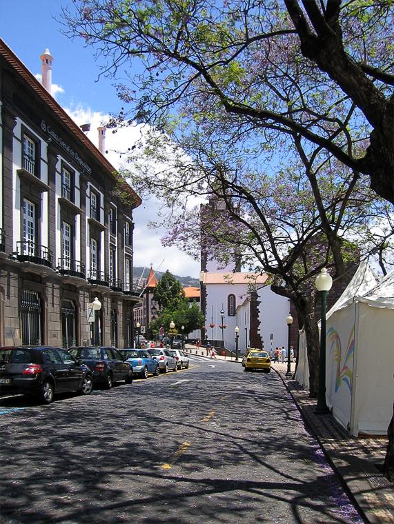 Улица Фуншала