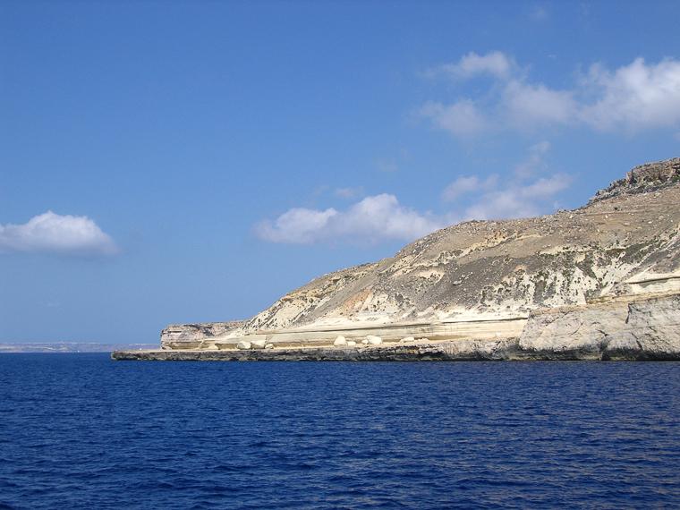 Утёсы юго-западного побережья Мальты
