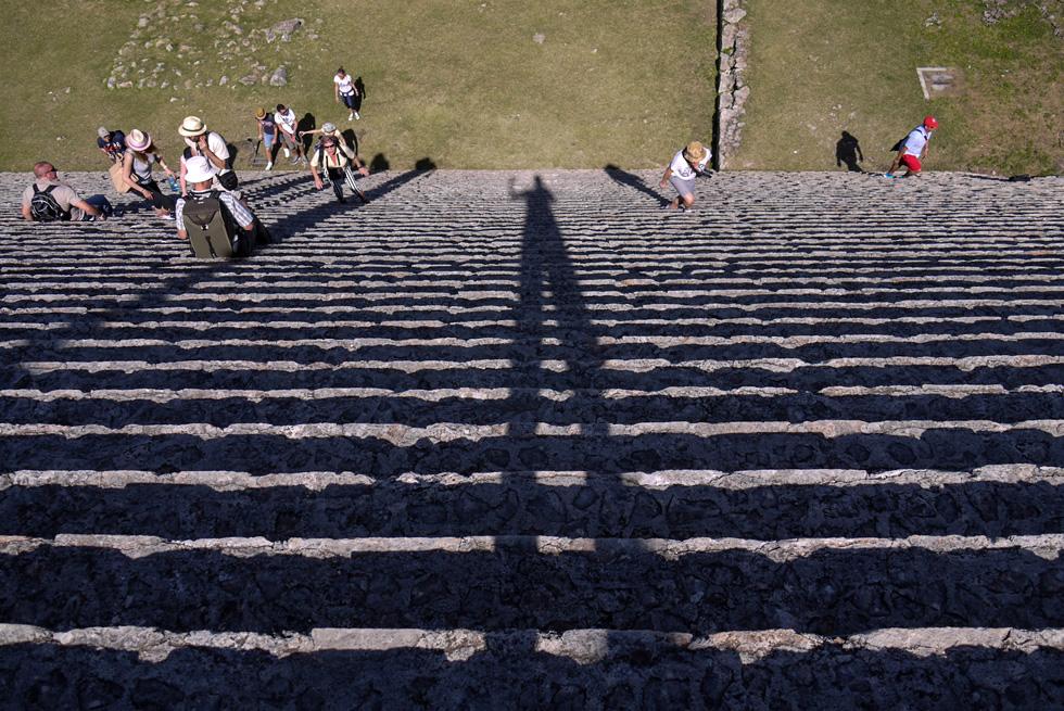 """Ступени лестницы """"большой пирамиды"""""""