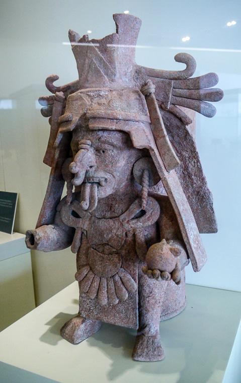Экспонат музея в Канкуне