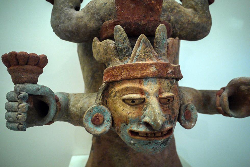 Глиняные изделия майя