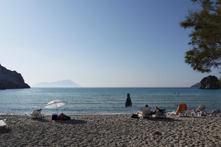 Один из лучших пляжей Милоса.