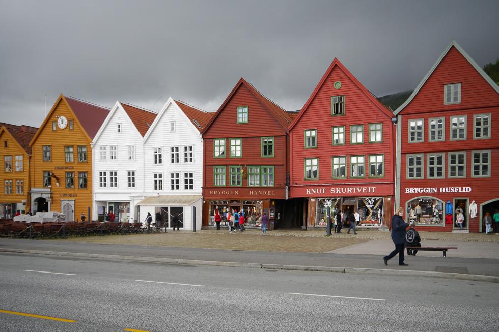 Кривенькие деревянные домики Брюгген