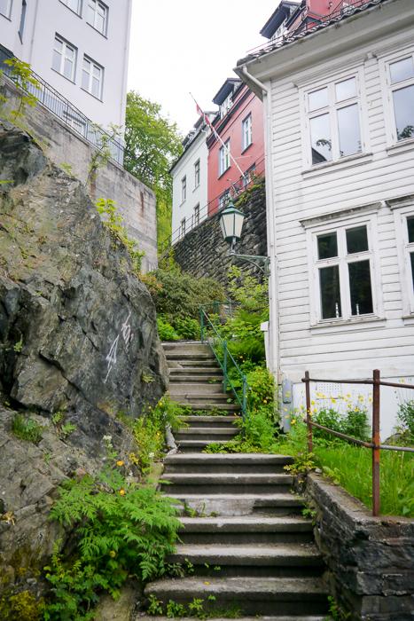 Лестница в Бергене