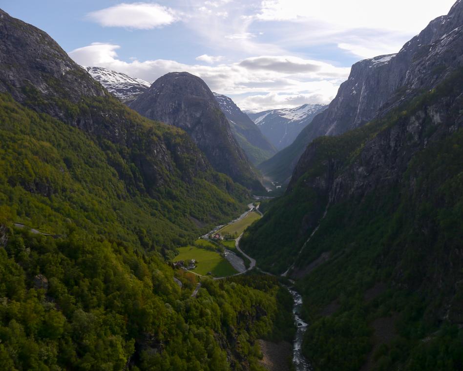 Горы в Норвегии