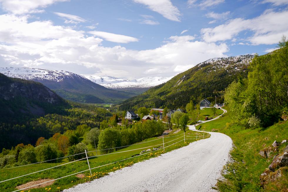 Красота в Норвегии повсюду