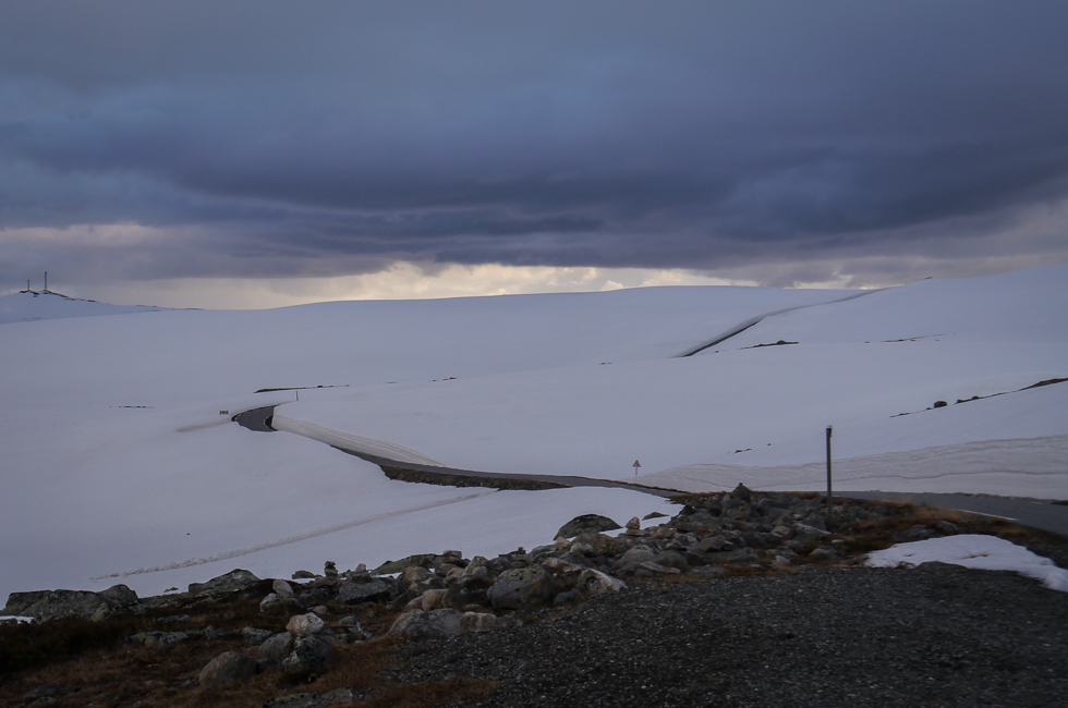 Дорога по горе