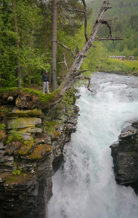 Водопад Gudbrandsjuvet